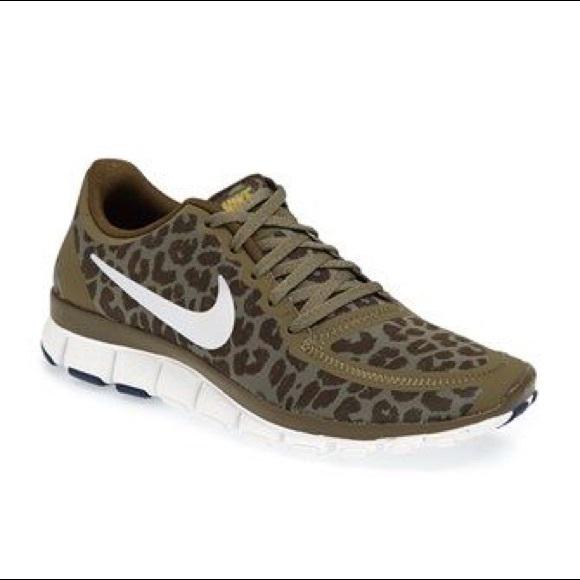 watch d2207 4d708 Green leopard Nike Free 5.0. M 5a540ca89cc7effe90029f9f